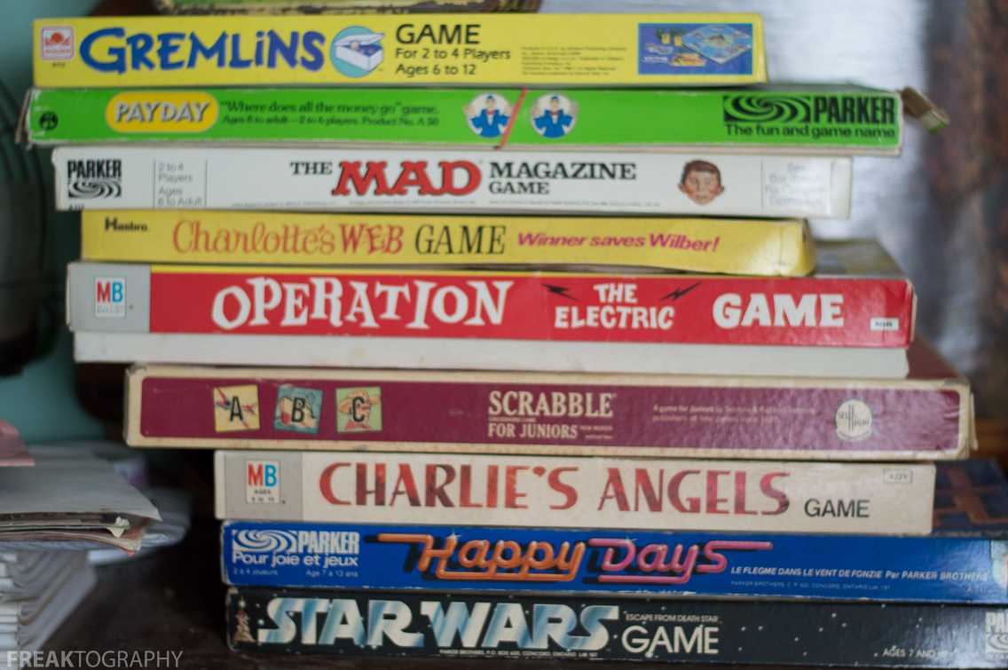 i found a stack of old retro board games in an abandoned house lots of 70 39 s and 80 39 s nostalgia. Black Bedroom Furniture Sets. Home Design Ideas