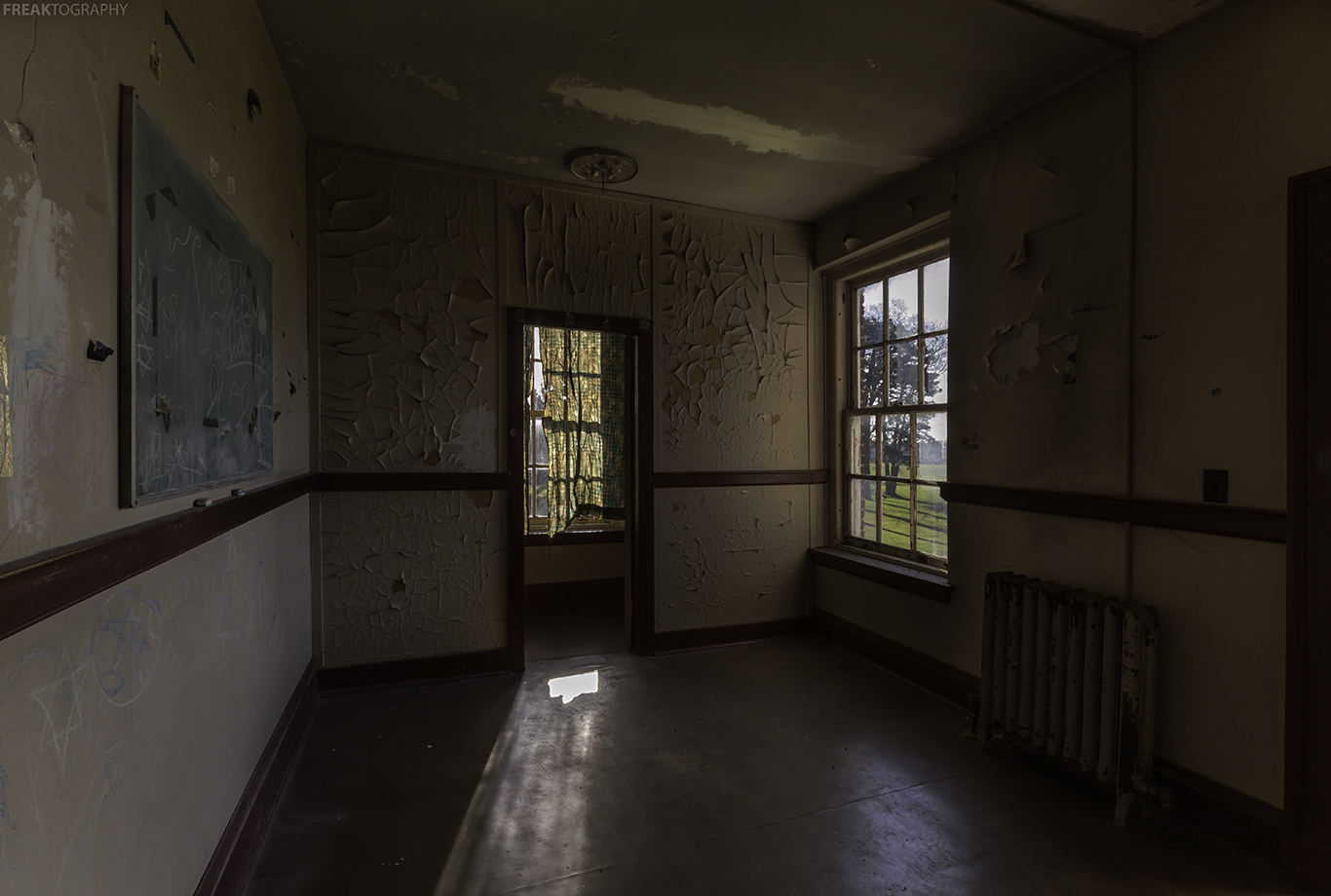 Corner Of Hospital Room