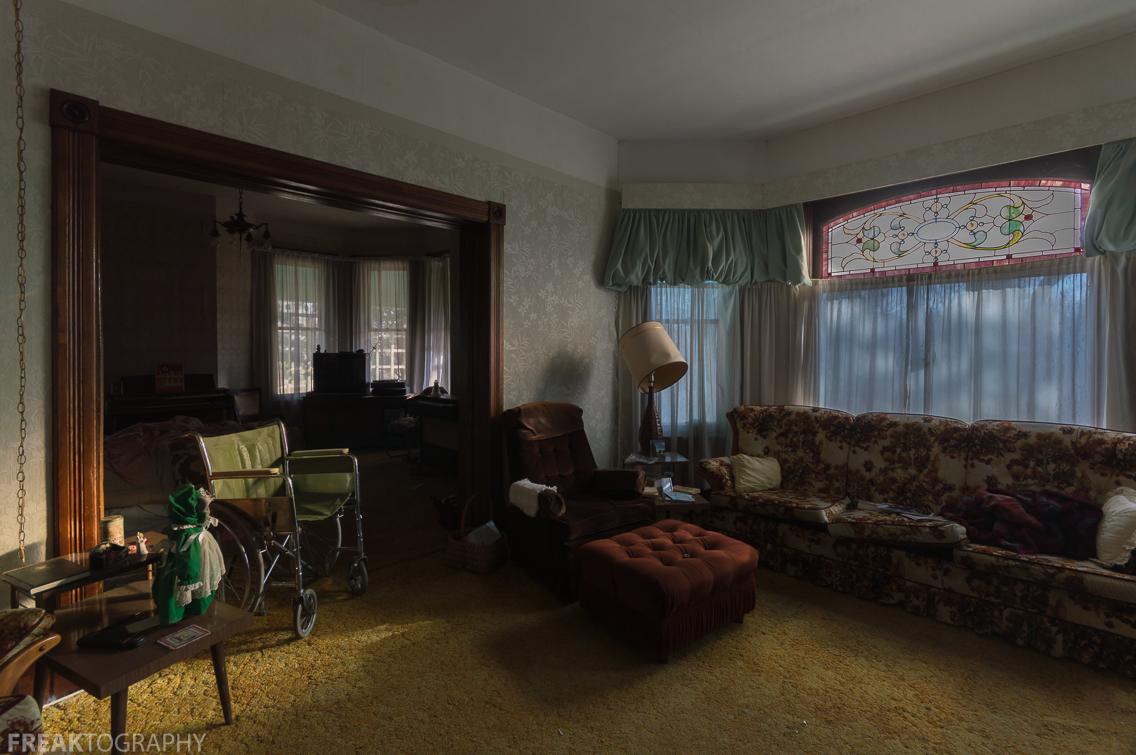Abandoned House Living Room