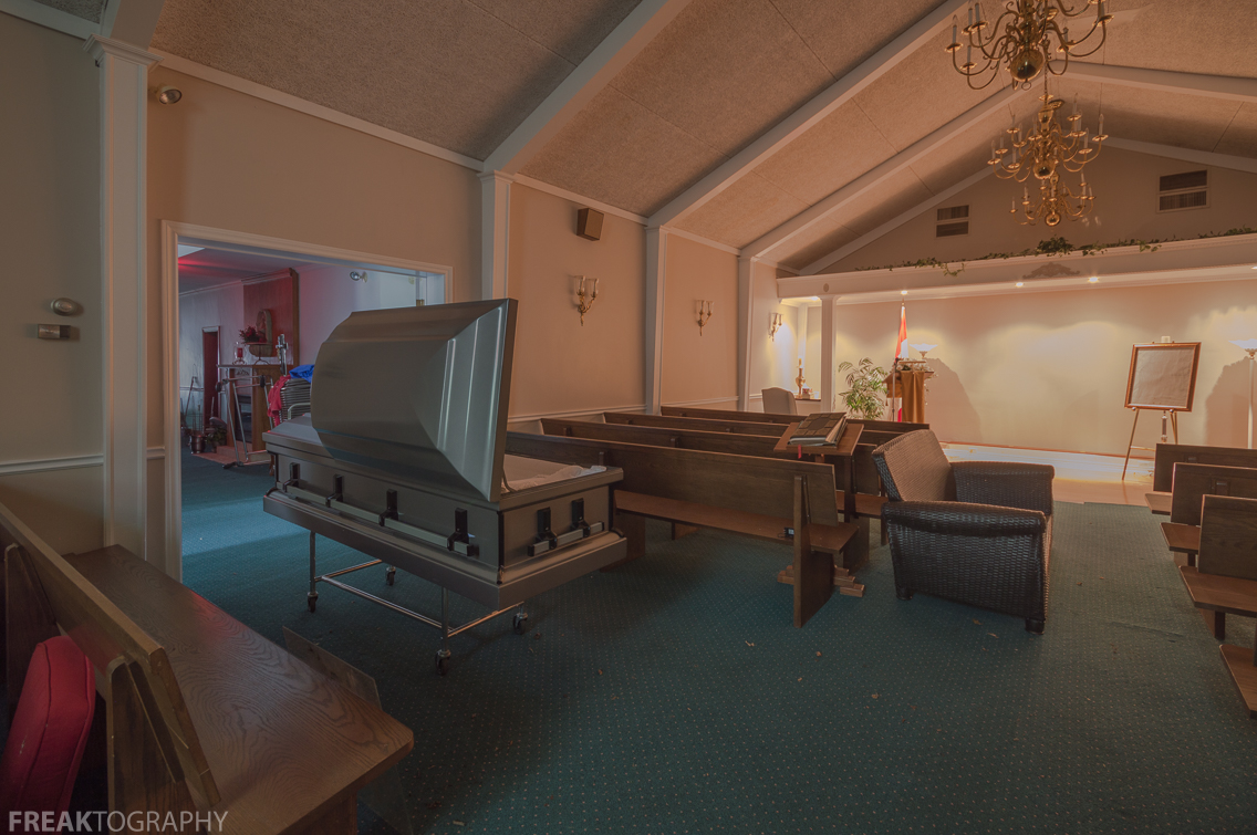 New Home Coffin Room